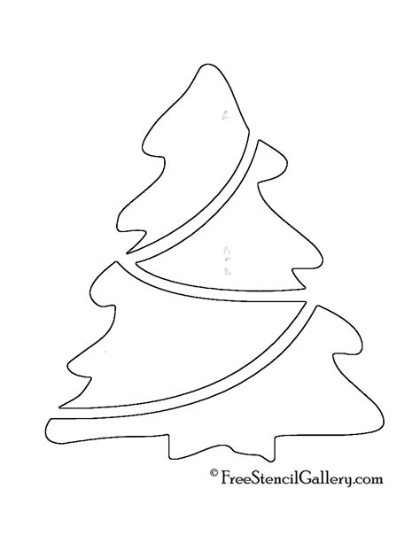 free printable christmas ornaments stencils christmas tree stencil 18 free stencil gallery