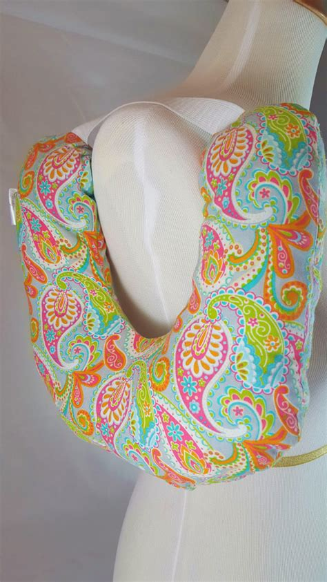 Post Surgery Pillows by Post Surgery Mastectomy Pillow Multi Color Paisley 7