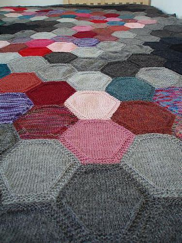 hexagon knitting pattern free 17 best images about projects to try on free