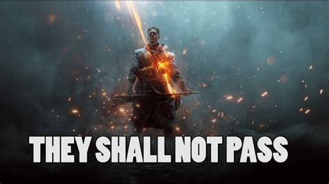 libro they shall not pass battlefield 1 they shall not pass en free trial aangekondigd inthegame