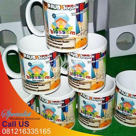 Mug Kaca Printing mug ulang tahun murah raja souvenir surabaya