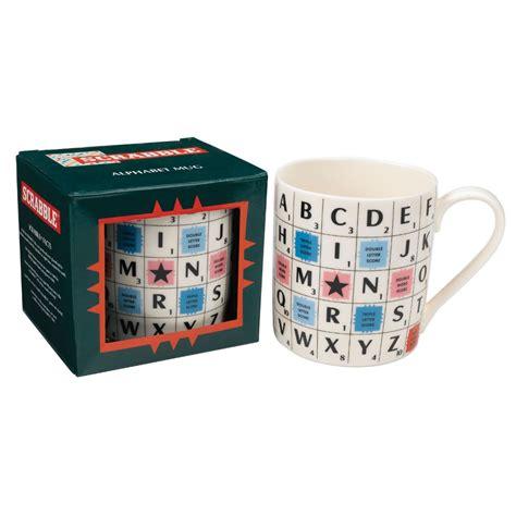 scrabble mugs new scrabble alphabet mug ceramic retro coffee cup boxed