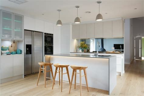 Sleek Kitchen Design by Luminaire Suspendu Cuisine 50 Suspensions Design
