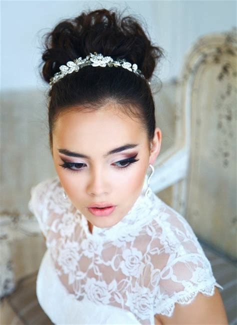 bridal hairstyles tiara beautiful wedding hairstyles for a perfect bride pink lover