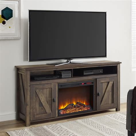 fireplace console fireplace consoles 26 brown cherry home