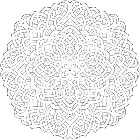 shamrock mandala coloring pages celtic mandala on pinterest celtic art celtic knot