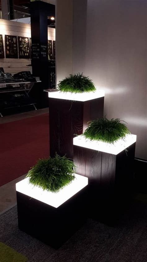 Light Planters by 17 Illuminated Planters How To Make A Glowing