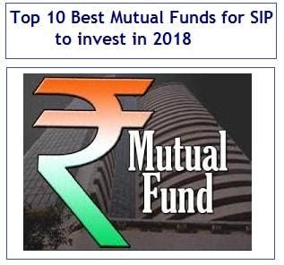 best sip investment top 10 best funds for sip to invest in 2018