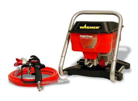 home depot wagner airless paint sprayer wagner 8 hp 2 600 psi paint crew jr paint sprayer