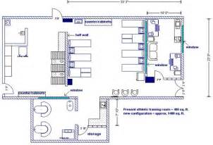 Blueprint Of A Room Athletic Training Athletic Training Room Design Resources