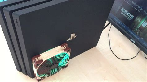 best ps4 cooling fan ps4 pro fan modifications silent cool custom
