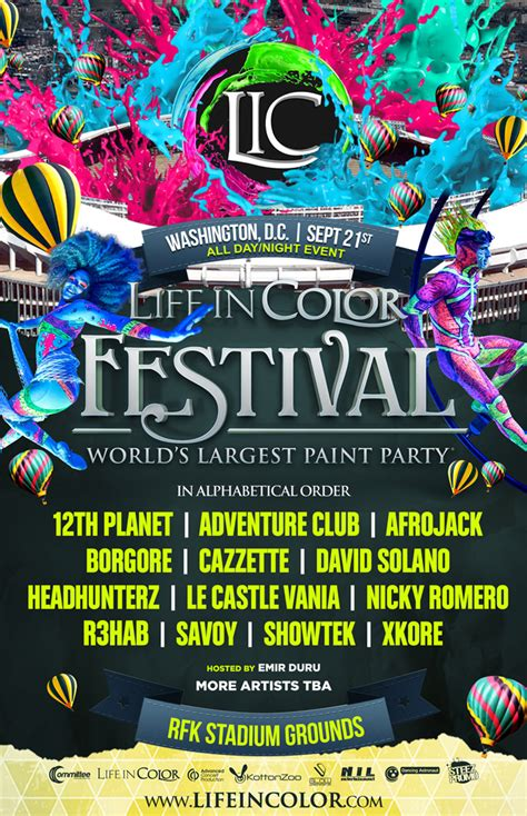 in color washington dc in color festival 9 21 at rfk stadium grounds dc