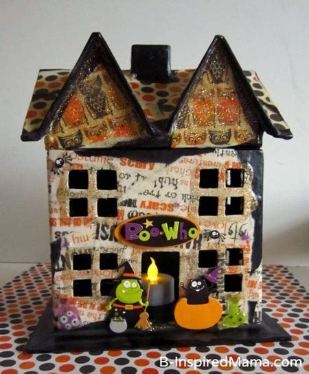 haunted house fun family crafts