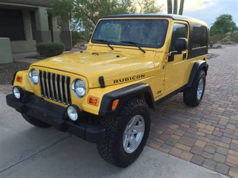 Jeep Wrangler For Sale In Az 2005 Jeep Wrangler Unlimited Rubicon For Sale In Tucson