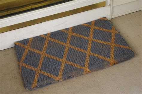 grey patterned door mat front door mats as a guest greeting tool amaza design