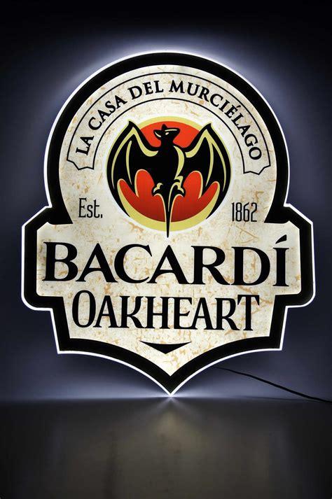 bacardi oakheart logo bildergalerie markenglas de bacardi bacardi