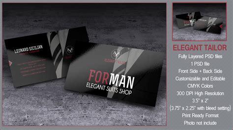Tailor Business Card Design