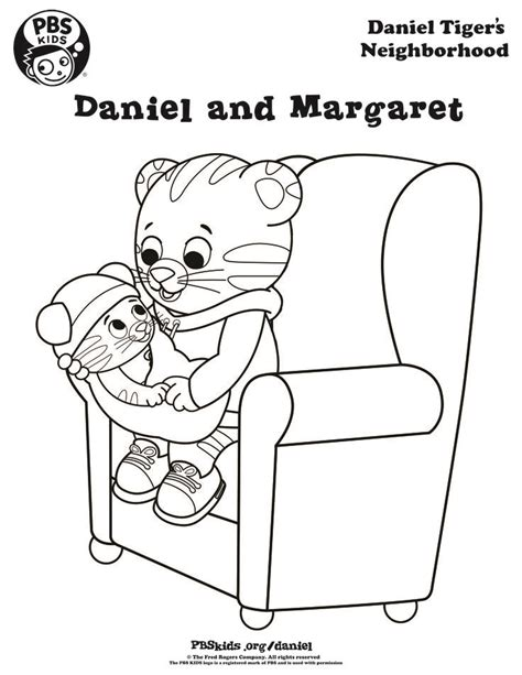 coloring pages daniel tiger 82 best images about pbs coloring pages on