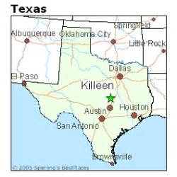 map of killeen and surrounding areas best places to live in killeen