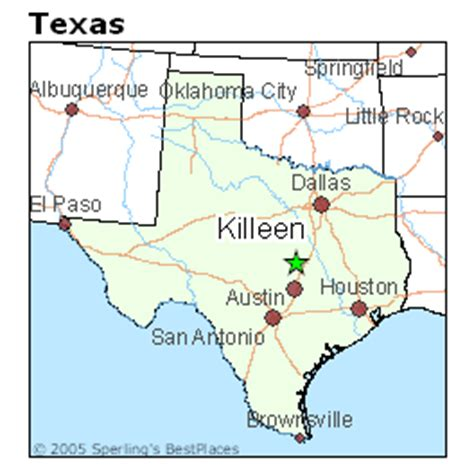 kileen texas map best places to live in killeen texas