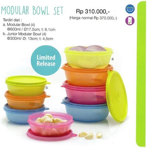 Tupperware Model Baru modular bowl set tupperware indonesia terbaru