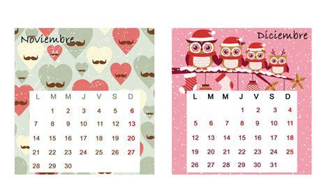 Calendario Noviembre 2016 Calendario De Mesa 2016 Enero Y Febrero