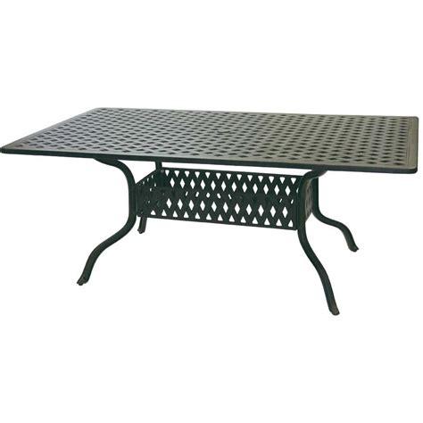 patio furniture san marcos patio furniture dining set cast aluminum 72 quot rectangular