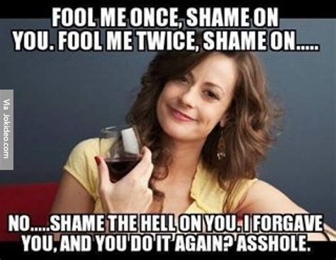 Shame On You Meme - 25 best ideas about fool me once on pinterest fool