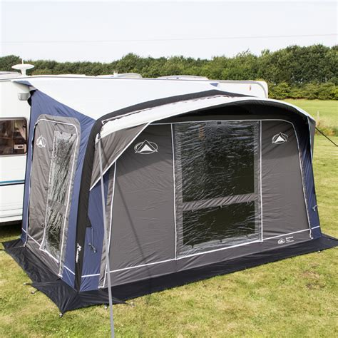 caravan awnings outlet sunnc advance air midway caravan awning with free carpet leisure outlet