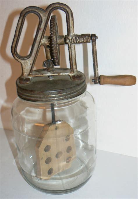 vintage items 1920s gem dandy antique kitchen butter churn crank