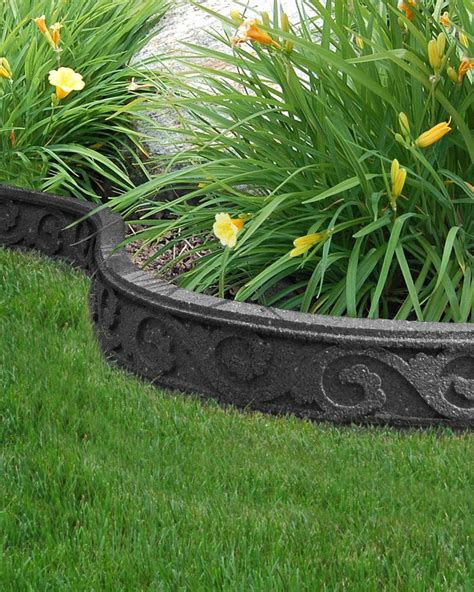 ecotrend flexi curve garden borders    recycled