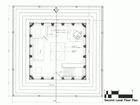 Tinyhouse Plans Second Floor Plan Fire Tower Tiny House Pinterest