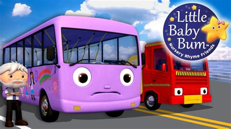 bysabys bys a bys wheels on the bus part 9 nursery rhymes by
