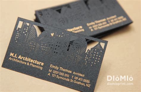 Architectural Business Cards | professional architecture designer business cards