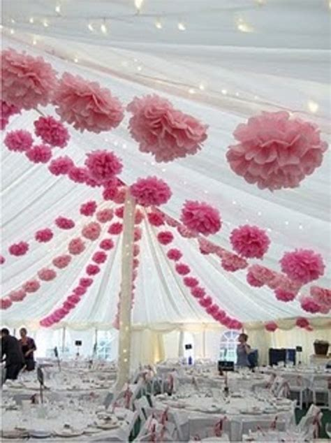 Tissue Decoration Ideas by 12 Tissue Paper Flower Pom Poms You Colors