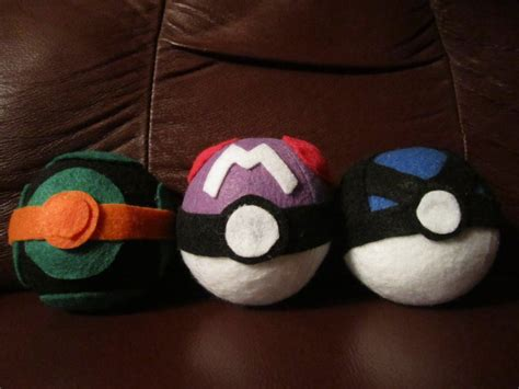 Handcrafted Pokeballs - handcrafted pokeballs handmade pokeballs by