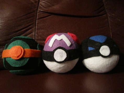 Handcrafted Pokeballs - handmade pokeballs by hollystarlightanime on deviantart