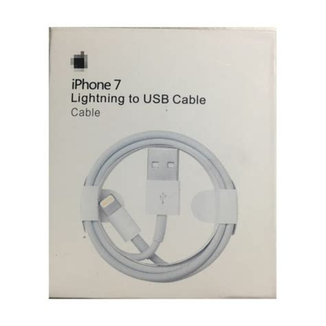 lightning to usb cable for iphone 7 7 plus 1m retail package