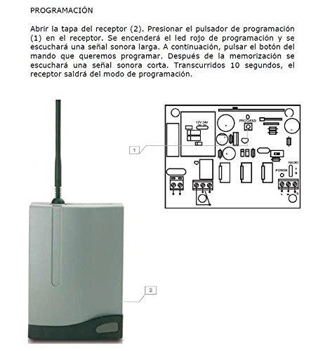 programar mando a distancia garaje mandos a distancia para puertas de garaje