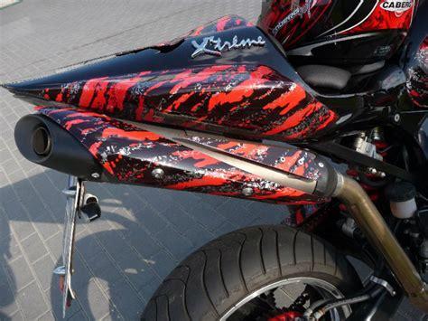 Motorrad Felgen Wassertransferdruck by Honda X11 Umbau Wassertransferdruck Pulverbeschichtung