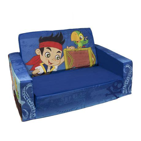 jake and the neverland pirates couch disney marshmallow flip open sofa jake and the neverland