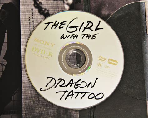sony designs dragon tattoo dvd to look like a pirate copy