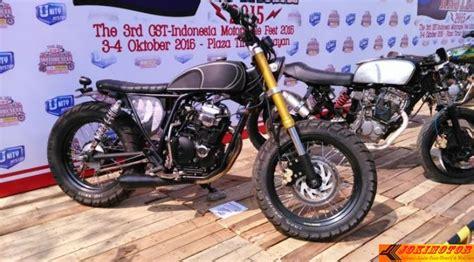 Modif Rx King Retro by Bahan Modifikasi Ala Retro Di Dominasi Motor Sport Dan