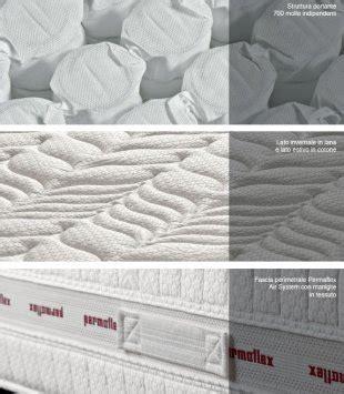 materasso permaflex prezzi permaflex silver materasso