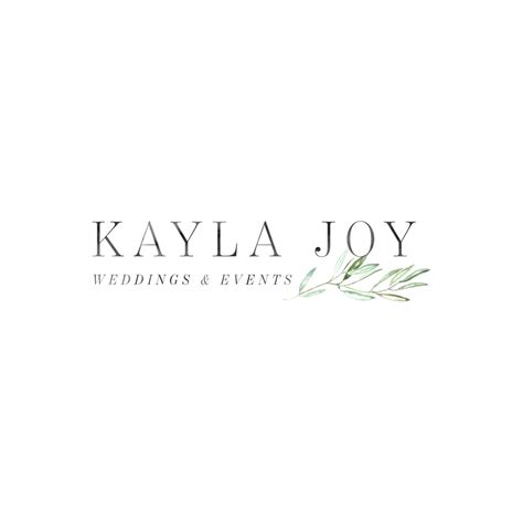 Wedding Planner Logo Event Planner Logo Wedding Planner Logo Olive Branch Logo Design Custom Event Planner Logo Template