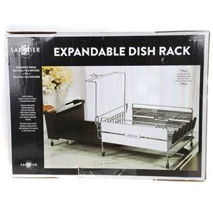 Expandable Dish Rack by Sabatier Expandable Dish Rack Buyers Note Discount