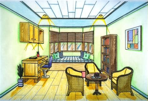 sketch of your dream house ms chang s art classes your choice one point perspective drawing ms chang s art