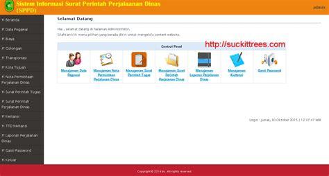 membuat sistem informasi perpustakaan berbasis web dengan php mysql source code sistem informasi surat perintah perjalanan