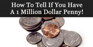 how to tell if you have a 1 million dollar penny