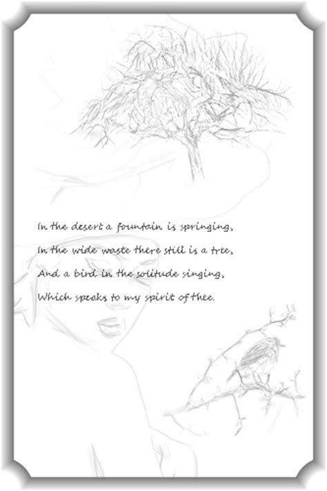 poem sketches drawings in the margins create a poem with pen and ink
